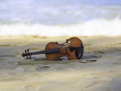 Klamuze - klassieke muziek aan zee viool